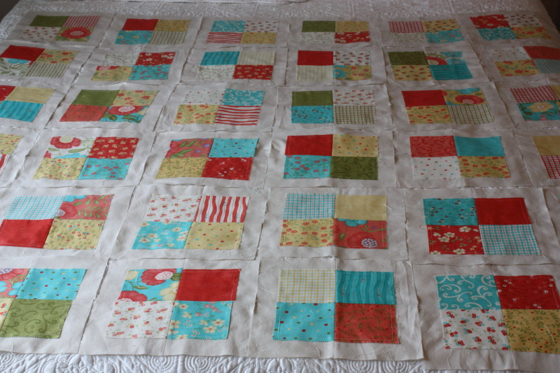 Lovely layer cake for synchronized squares