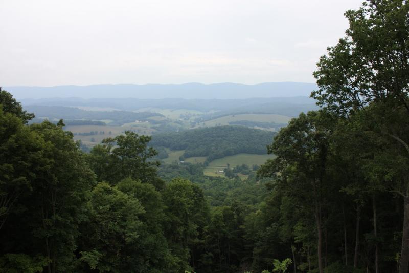 Big Walker Mountain lookout in SW Va