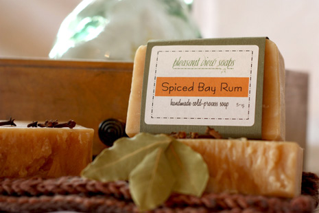 Spiced Bay Rum Pleasant View Soaps
