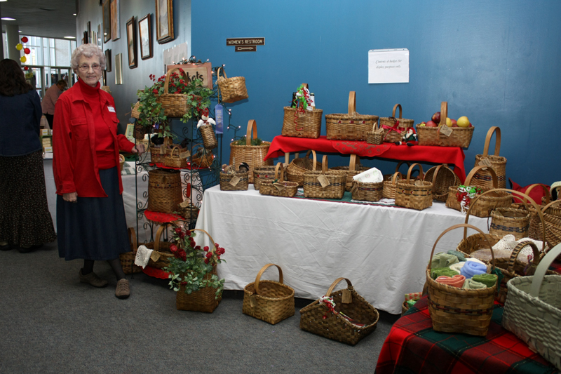Holiday Living Show ~ Granny with her baskets