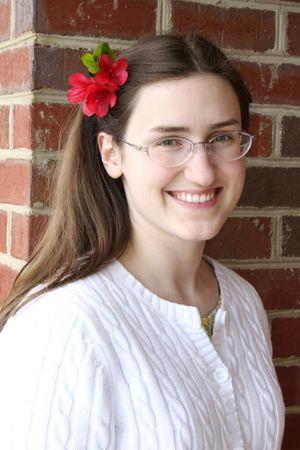 Sarah, photo taken Mother's Day 2011