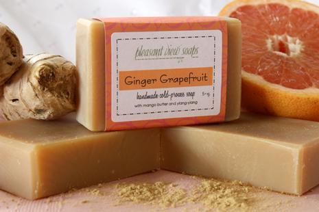 Ginger Grapefruit Pleasant View Soaps