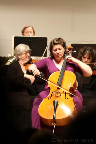 Paige Riggs, Cellist