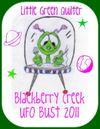 UFO Bust 2011 button
