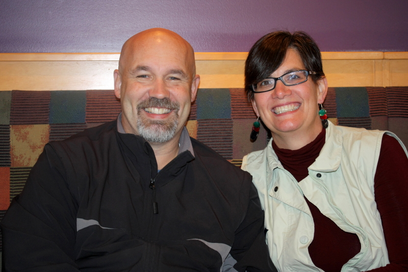 Tom & Ann ~ Oct 2011 ~ Panera Bread