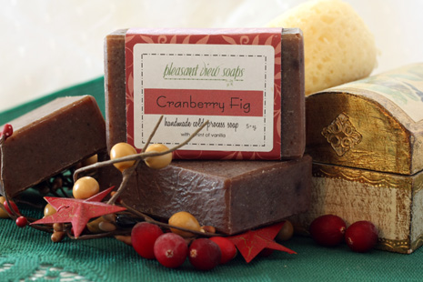 Cranberry Fig Pleasant View Soaps