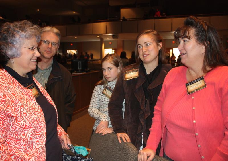 Girottis meet the Petersen family