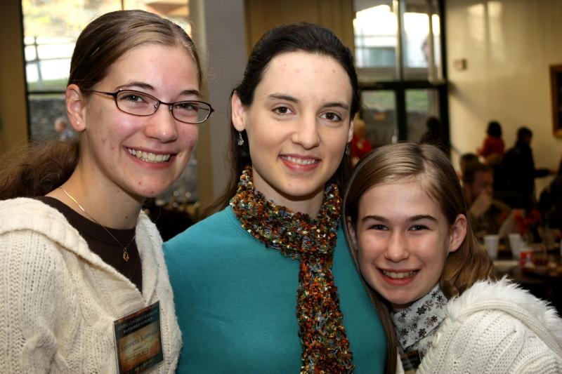 Miss Antoinette, Hannah, & Grace