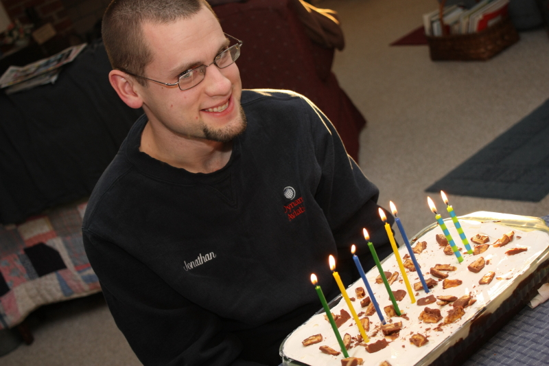 Jonathan's 26th birthday Turtle Cake