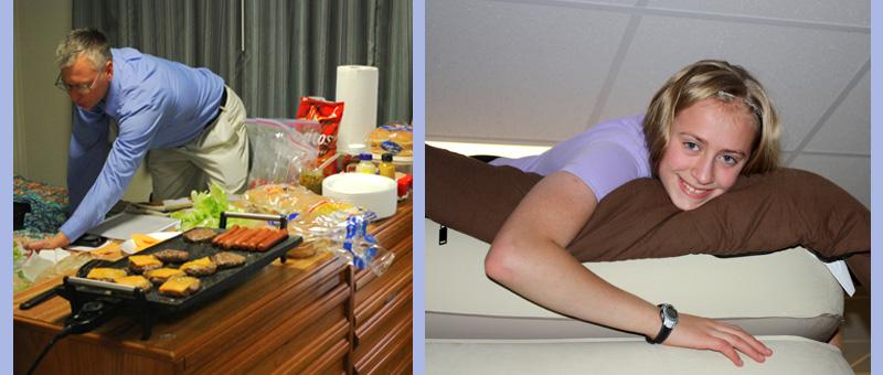 Hynes dorm kitchen operation
