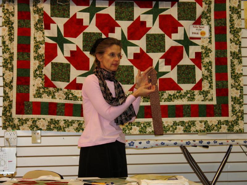 Barbara teaching class