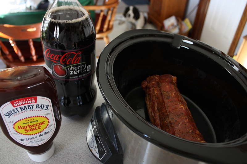 Cherry Coke Pulled Pork
