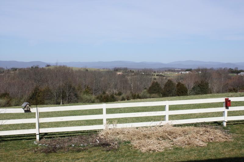Preparing the flower beds ~ spring 2012