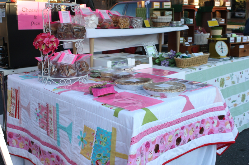 Sarah's Sweets display
