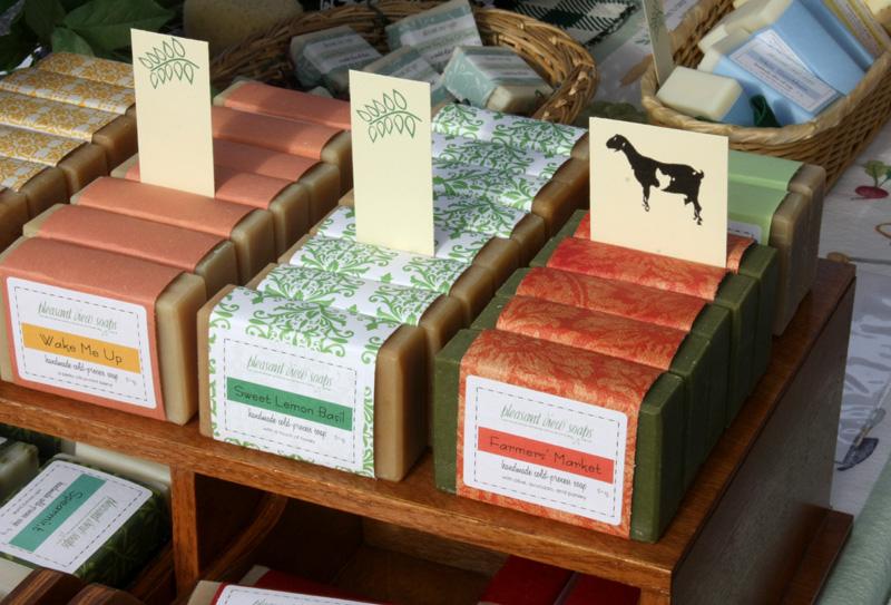 Farmers' Market soaps