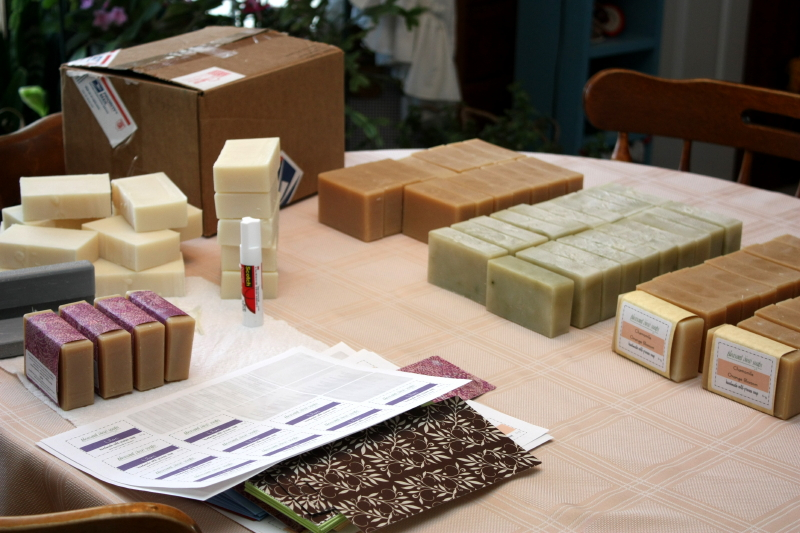 Soap production!