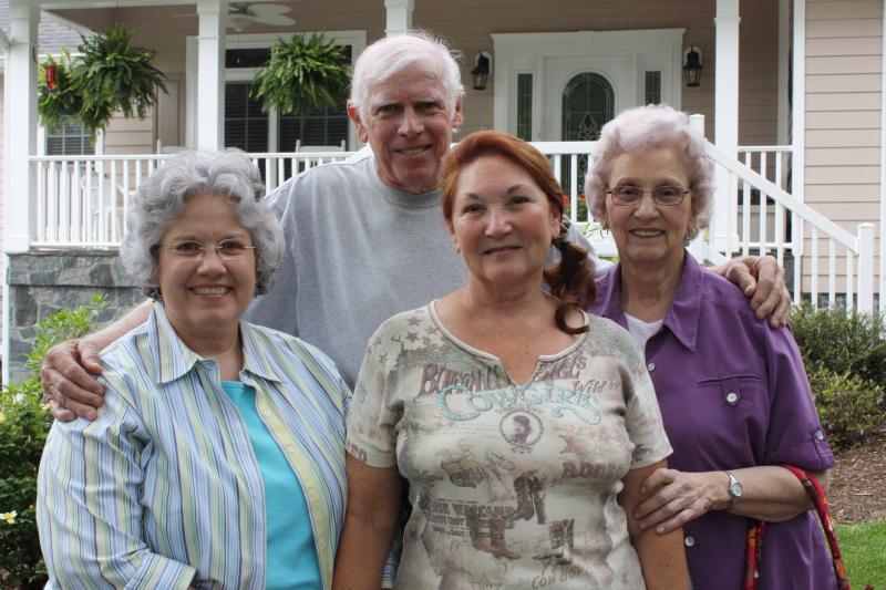 Deb, Bud, Carolyn, & Granny