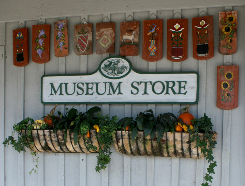 Entrance to gift shop