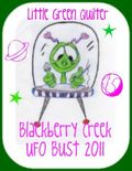UFO Bust 2011 button