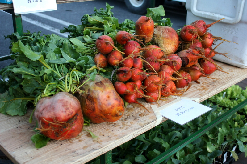 Beets take center stage at market!