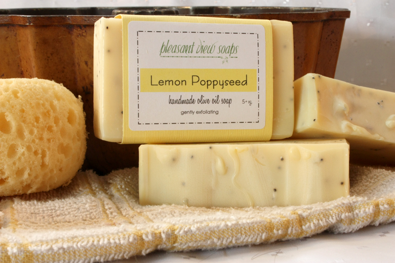 Lemon Poppyseed Pleasant View Soaps