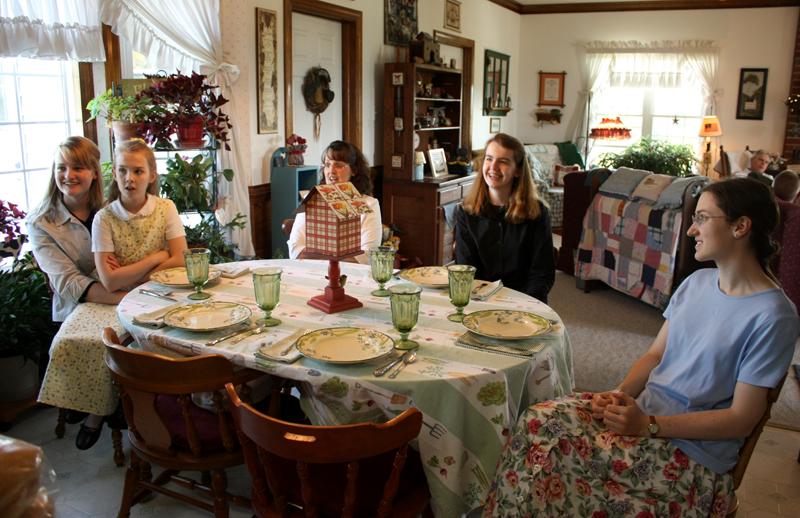 conversation around the table