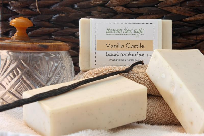 Pleasant View Soaps Vanilla Castile