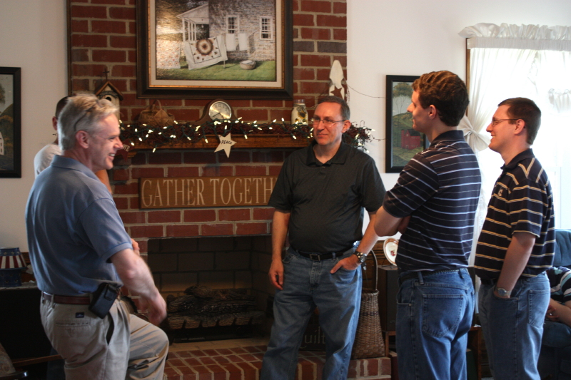 Tom and Jonathan talk with our friends