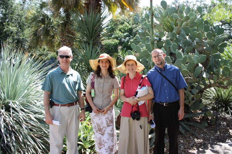 Girottis at the Alamo ~ July 2012
