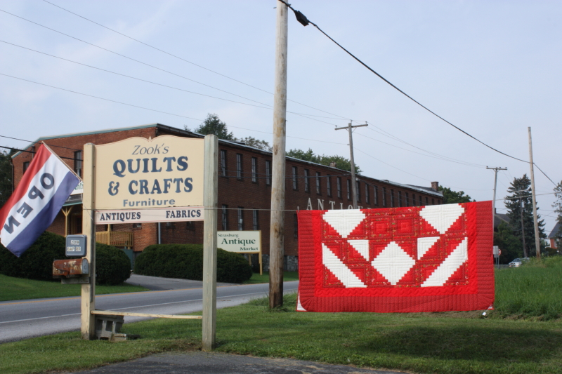 Another quilt and antique shop!