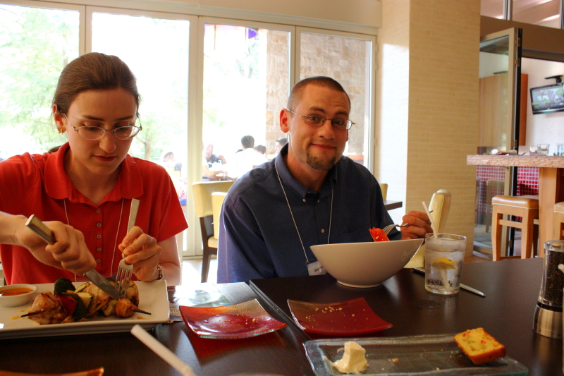 Sarah and Jonathan ~ dinner at Achiote