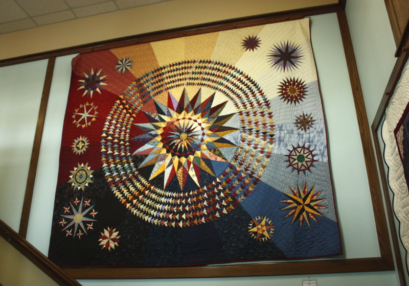 Compass Stars Supreme hanging in an Amish Furniture Store