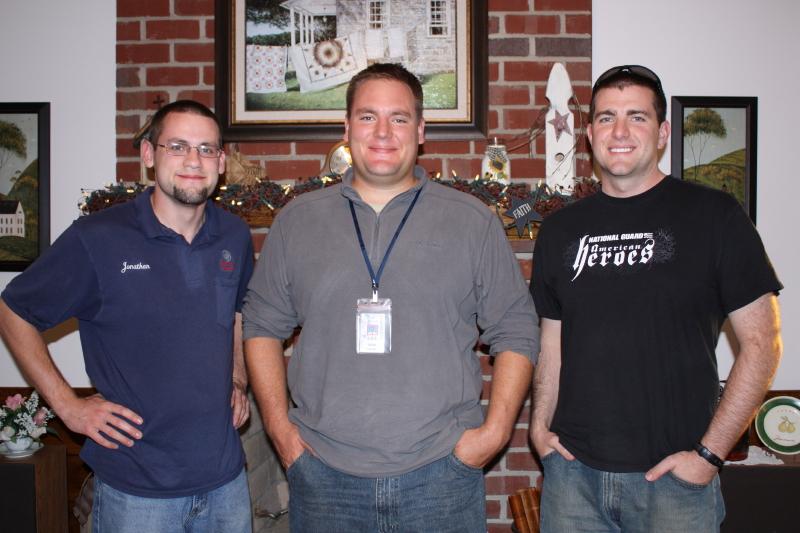 3 Men ~ Jonathan, Erich, & Kyle