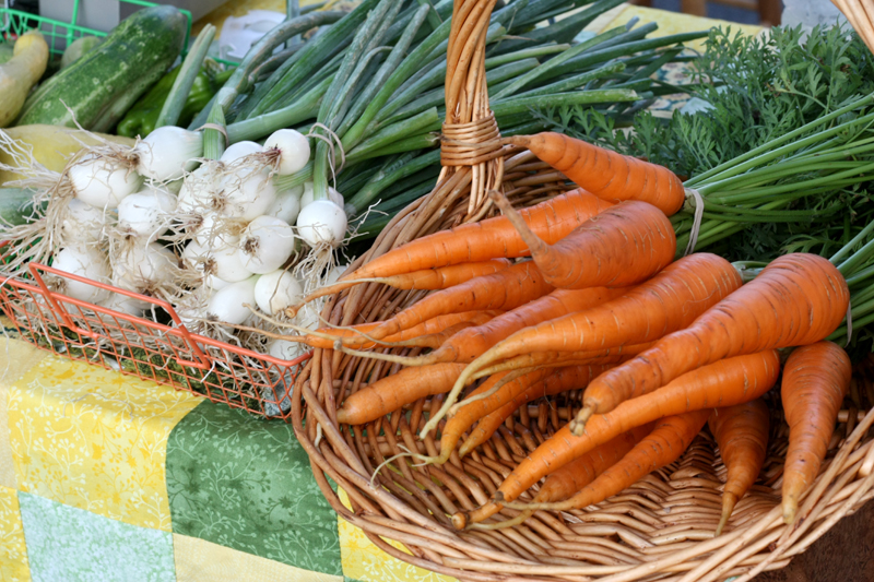 Farmer's Market Veggies, photo by Hannah G. Girotti, 2012