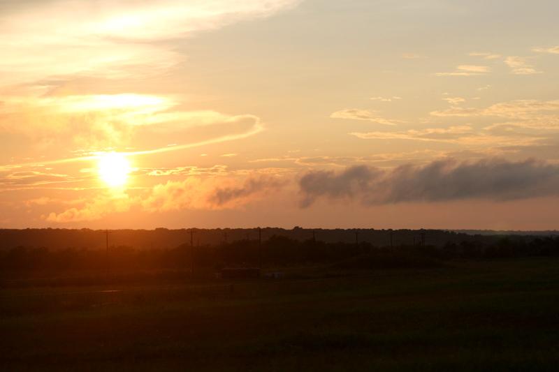 Austin Sunset, photo by Hannah G. Girotti, 2012