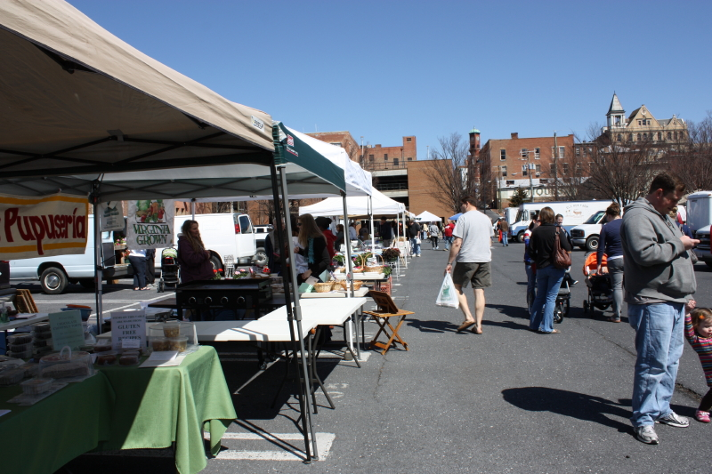 Farmers' Market Opening Day