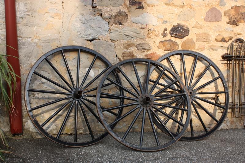 Wagon Wheels in Bird-in-Hand, PA