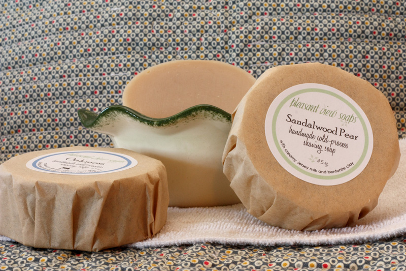 Shaving Pleasant View Soaps