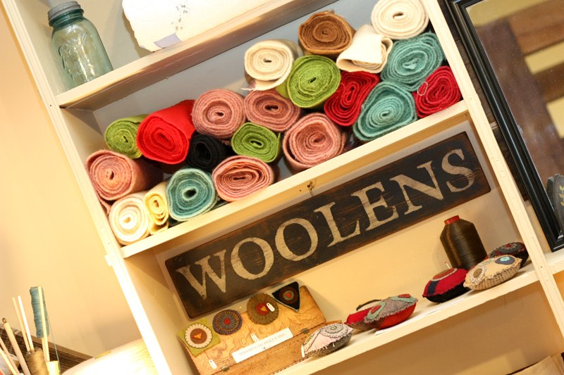 woolens at Appalachian Piecework