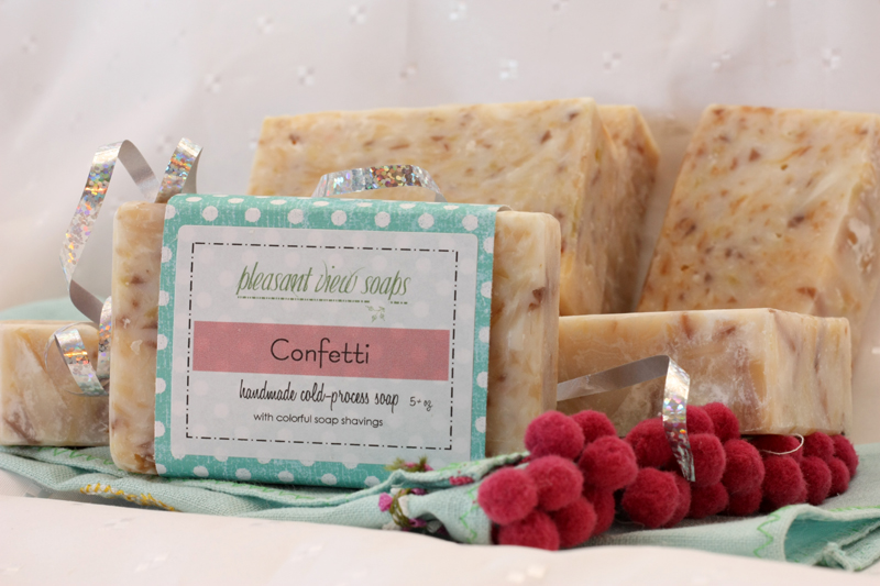 Confetti Pleasant View Soaps