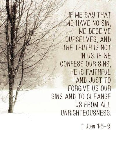 I John 1:8-9