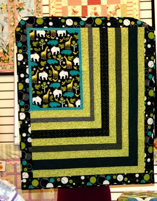 baby quilt ~ trunk show
