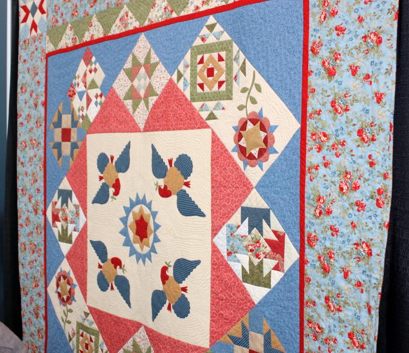 Raffle quilt ~ it's beautiful!