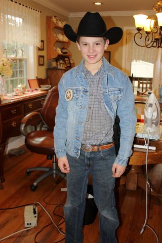 My friend, John, the Texas Ranger