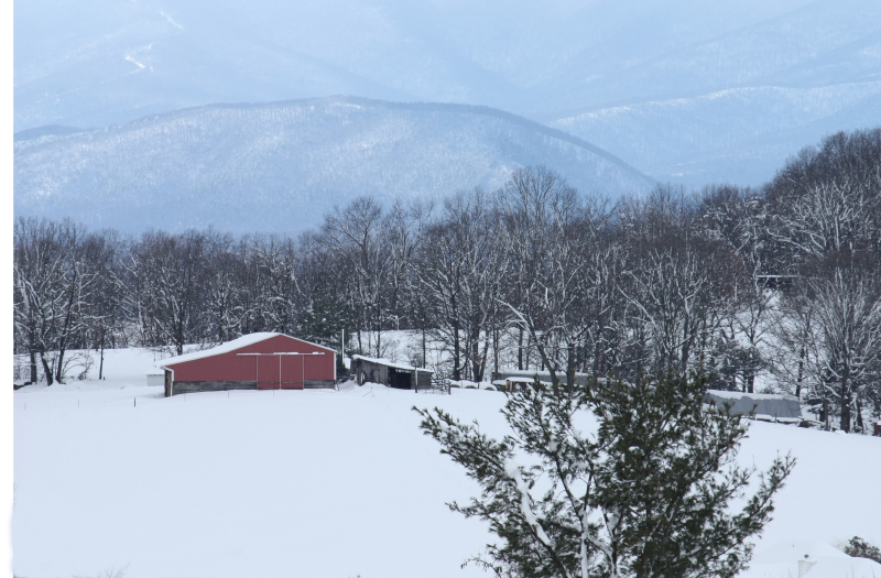 Country Barn below Elliott's Knob