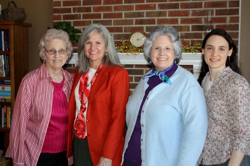 Granny, Lisa, Deb & Hannah