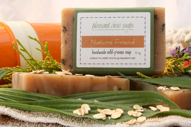 Jewelweed soap, now back in stock!