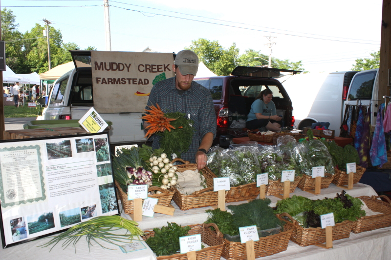 Farmers' Market in Harrisonburg