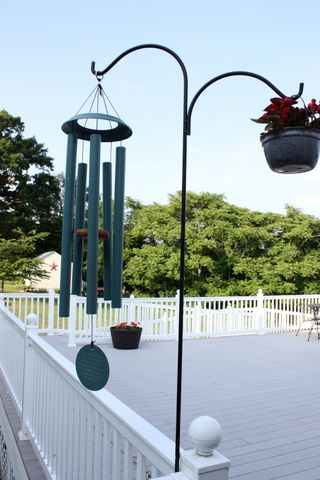 wind chimes on our deck