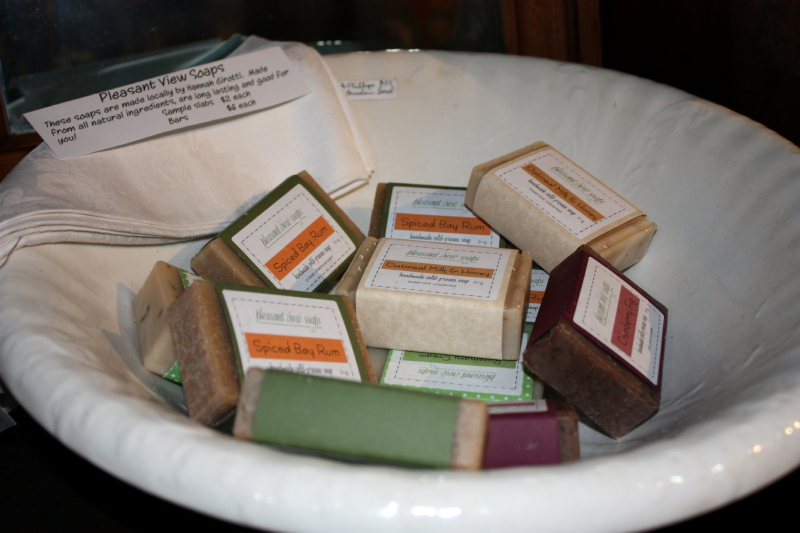 Pleasant View Soaps at Appalachian Piecework